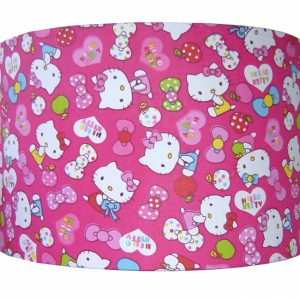 kinderlamp hello kitty roze designed4kids