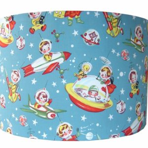 kinderlamp retro_rocket designed4kids