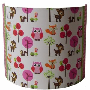 wandlamp forest friends designed4kids