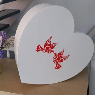 Enveloppendoos voor oa bruiloft, Valentijn, verjaardag, babyshower